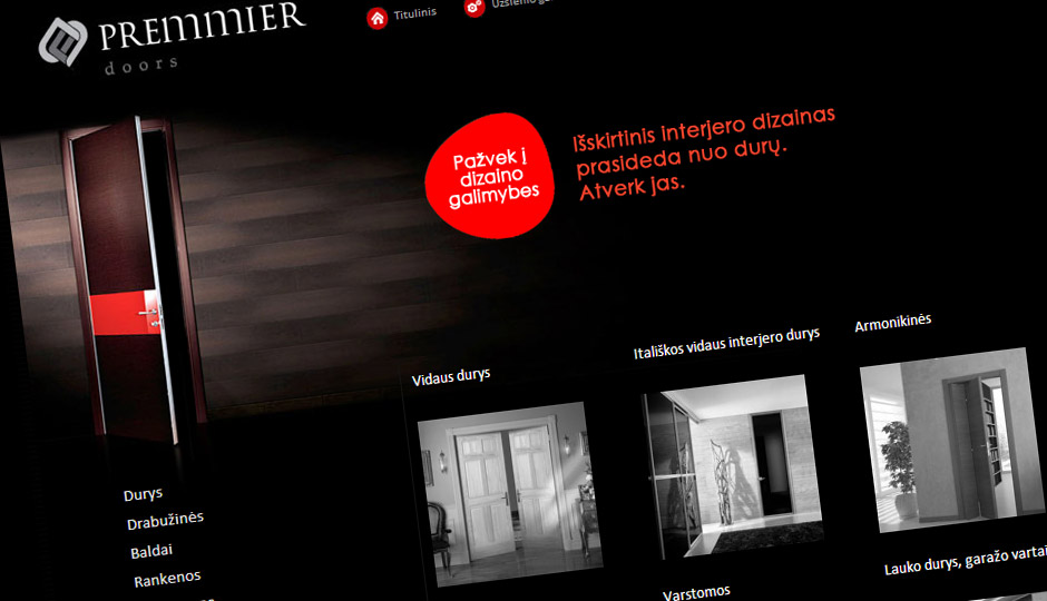 PremmierDoors website & Premmier :: Gamadigi pezcame.com